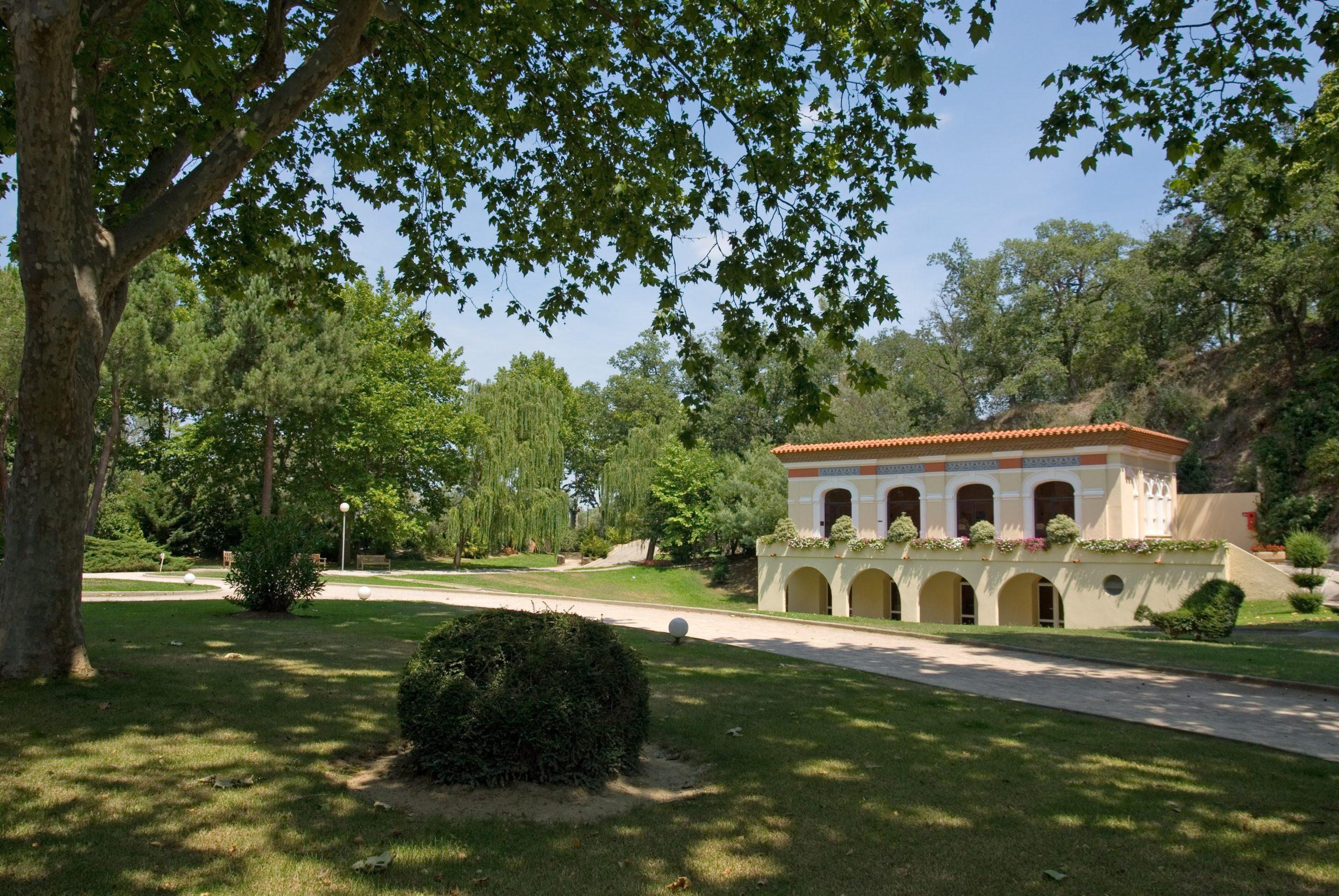 Thermes du Boulou parc