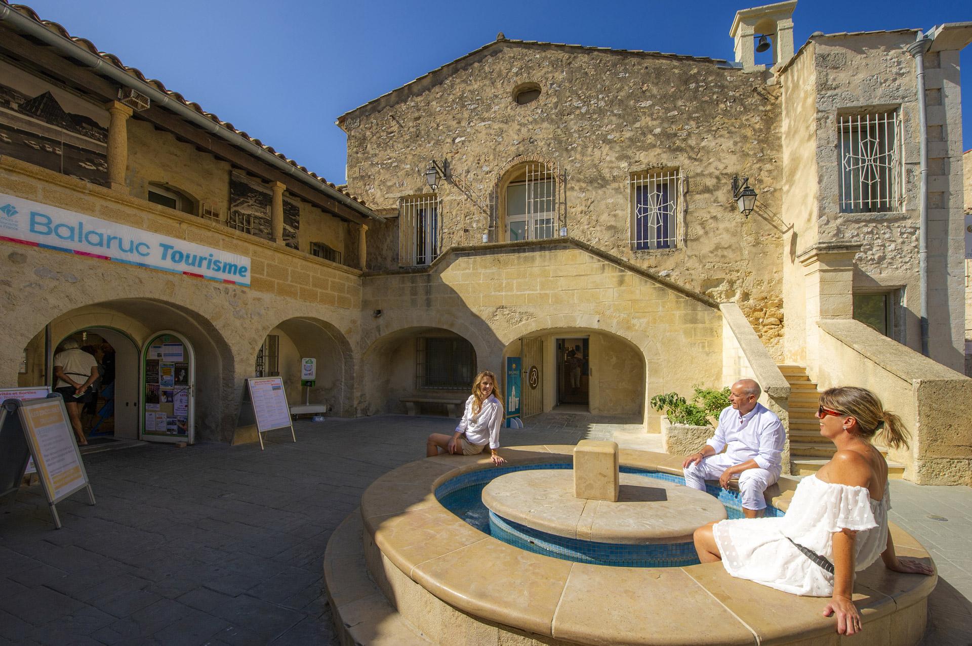 Centre ville de Balaruc-les-Bains Office de Tourisme