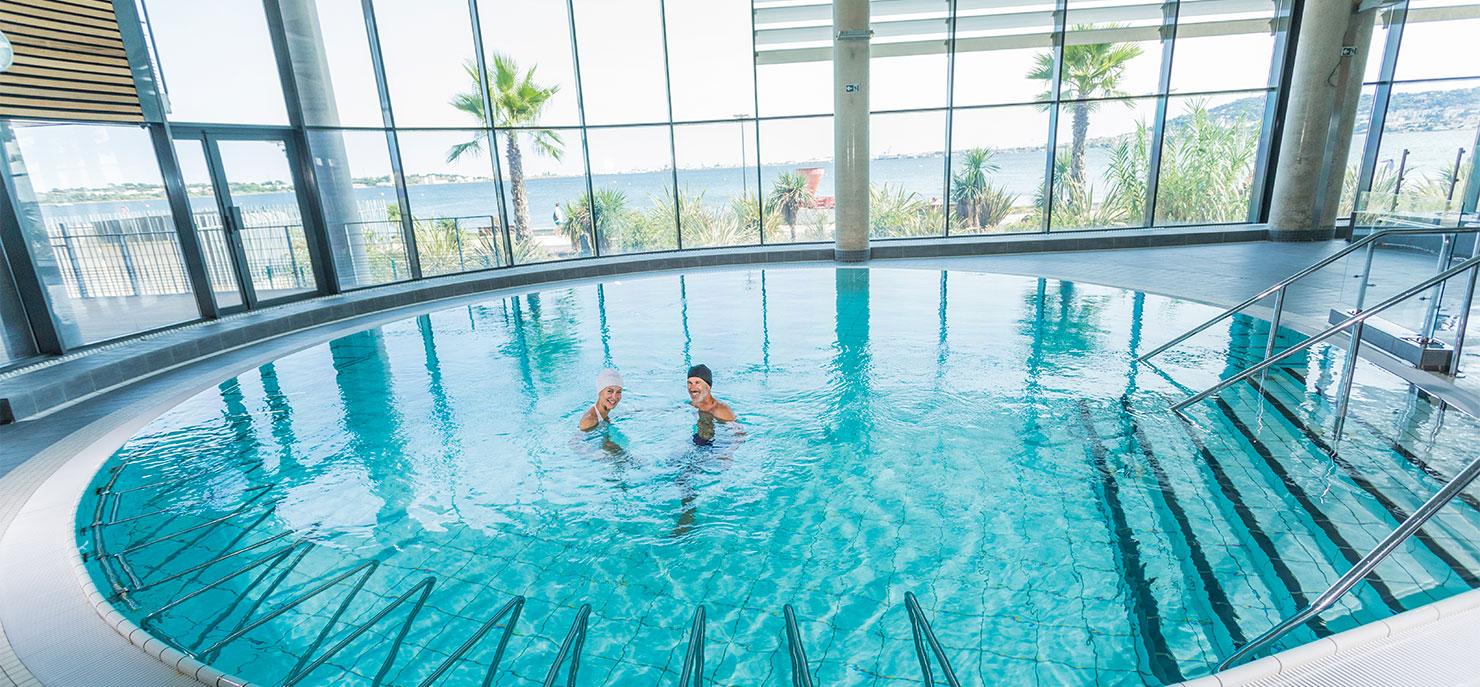 Cure thermale Occitanie piscine