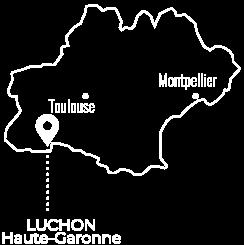 Carte Luchon