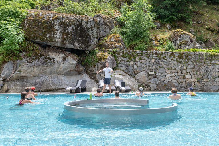 Aquagym au Bains du Rocher à Cauterets