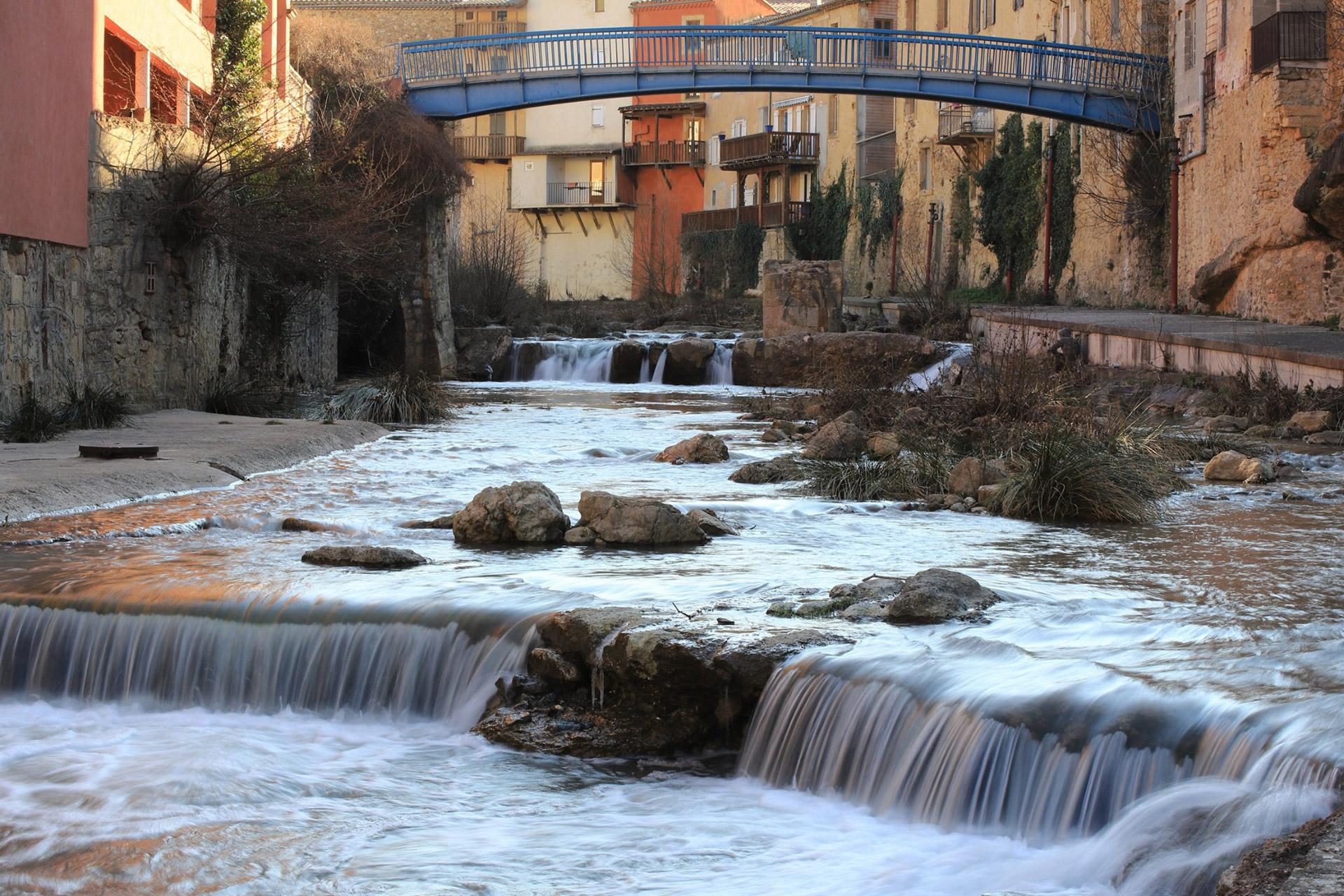 Rivière à Rennes-les-Bains