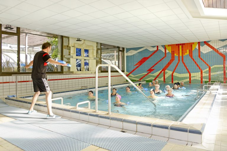 Cours collectif aquagym piscine - Thermes Saint Lary Soulan
