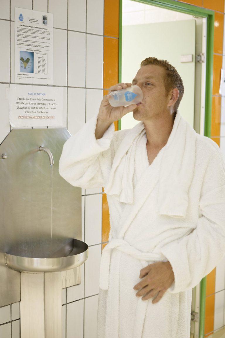 Soin cure boisson - Thermes Ussat-les-Bains
