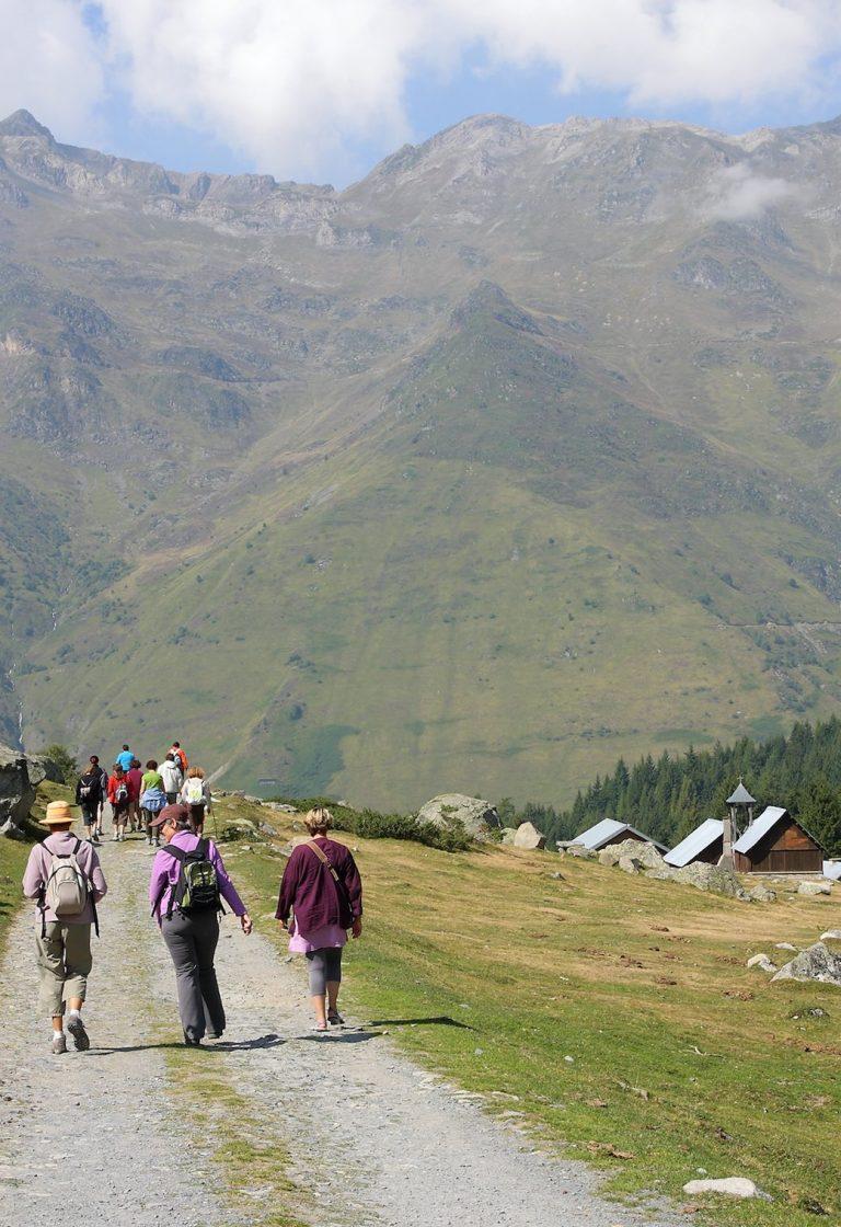 Randonnée pédestre à proximité des thermes de Barèges-Barzun