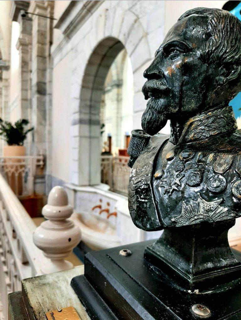 Elément de décoration des thermes de Barèges-Barzun