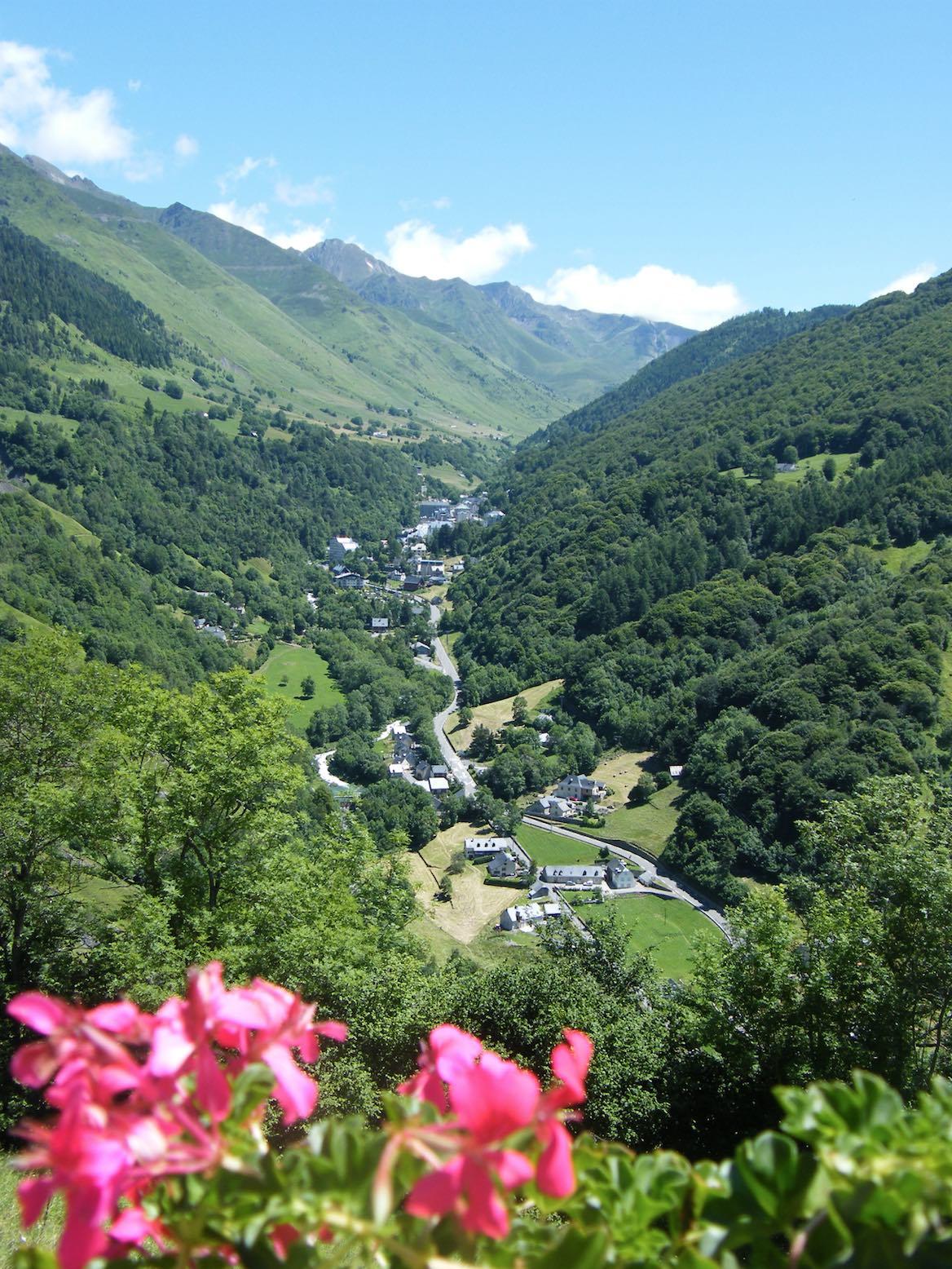 Village de Barèges dans les Hautes-Pyrénées