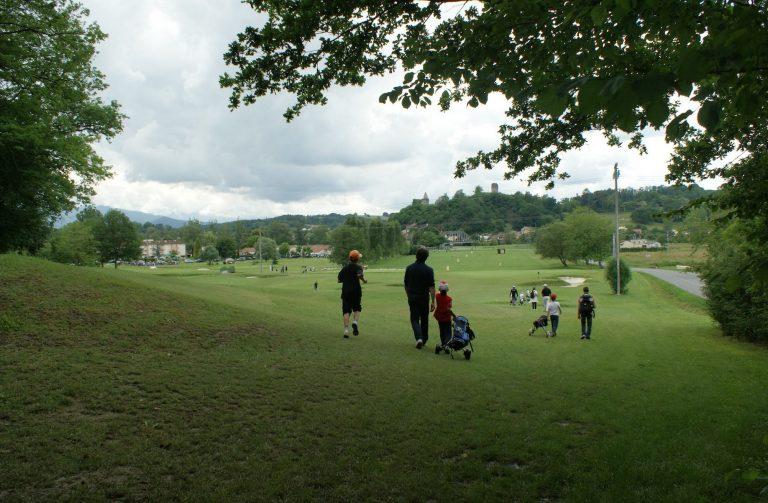 Terrain de golf à proximité des thermes de Salies-du-Salat